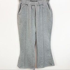 New Code x Mode Nordstrom Gray Elastic Waist Pants